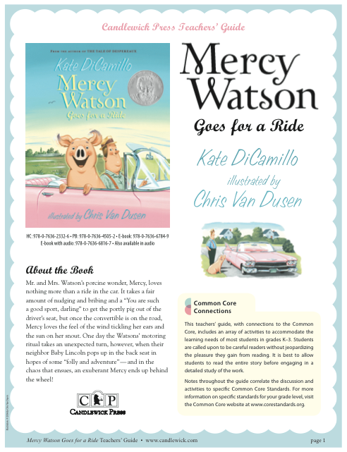 mercy watson something wonky this way comes pdf