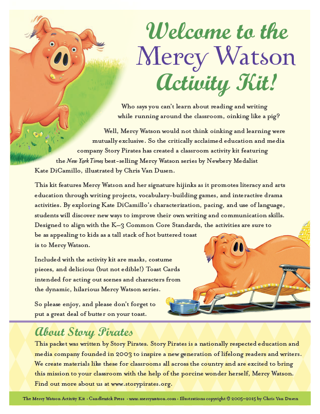 mercy watson to the rescue download pdf